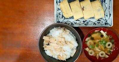 これは大満足!松茸のお吸い物を使いアレンジ定食の作り方☆お腹一杯食べたい時にオススメ