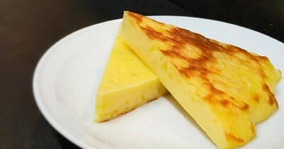 フライパンで焼ける!さつまいもチーズケーキの作り方☆しっとり仕上がる失敗しないコツ「簡単レシピ」