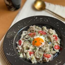夜仕込んで、朝は温めるだけ!簡単「リゾット風朝食」レシピ3選